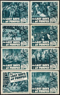"""Movie Posters:Adventure, The Last Days of Pompeii (RKO, R-1948). Lobby Card Set of 8 (11"""" X14""""). Adventure.. ... (Total: 8 Items)"""