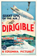 "Movie Posters:Adventure, Dirigible (Columbia, 1931). One Sheet (27"" X 41"") Style A.. ..."