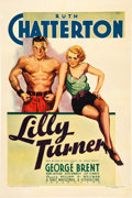 "Movie Posters:Drama, Lilly Turner (Warner Brothers, 1933). One Sheet (27"" X 41"").. ..."