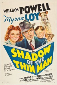 """Shadow of the Thin Man (MGM, 1941). One Sheet (27"""" X 41"""") Style D"""