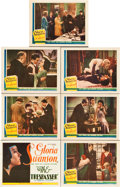 """Movie Posters:Drama, The Trespasser (United Artists, 1929). Title Lobby Card and LobbyCards (6) (11"""" X 14"""").. ... (Total: 7 Items)"""