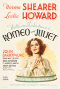 "Movie Posters:Drama, Romeo and Juliet (MGM, 1936). One Sheet (27"" X 41"") Style C.. ..."