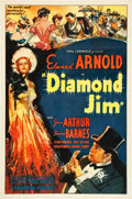 "Movie Posters:Drama, Diamond Jim (Universal, 1935). One Sheet (27"" X 41"").. ..."