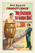 "Movie Posters:Comedy, No Father to Guide Him (Pathé, 1925). One Sheet (27"" X 41"").. ..."