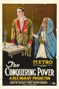 "The Conquering Power (Metro, 1921). One Sheet (27"" X 41"")"