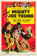 "Movie Posters:Adventure, Mighty Joe Young (RKO, R-1953). One Sheet (27"" X 41"").. ..."