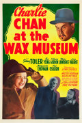 "Movie Posters:Mystery, Charlie Chan at the Wax Museum (20th Century Fox, 1940). One Sheet(27"" X 41"").. ..."