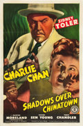 """Movie Posters:Mystery, Shadows over Chinatown (Monogram, 1946). One Sheet (27"""" X 41"""").. ..."""