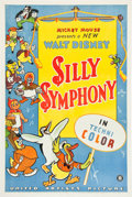 "Movie Posters:Animated, Silly Symphony (United Artists, 1933). Stock One Sheet (27"" X41"").. ..."