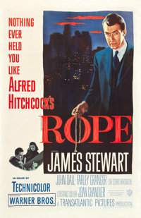 """Rope (Warner Brothers, 1948). One Sheet (27"""" X 41"""")"""