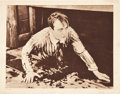 "Movie Posters:Adventure, The Grim Game (Paramount, 1919). Lobby Card (11"" X 14"").. ..."
