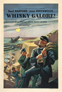"Whiskey Galore (Ealing, 1949). British One Sheet (27"" X 40"")"