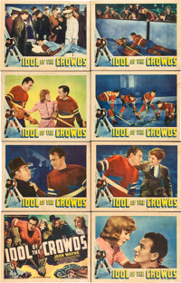 "Idol of the Crowds (Universal, 1937). Lobby Card Set of 8 (11"" X 14""). ... (Total: 8 Items)"