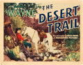 """Movie Posters:Western, The Desert Trail (Monogram, 1935). Title Lobby Card (11"""" X 14"""")....."""