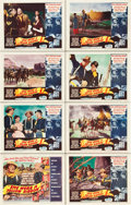 "Movie Posters:Western, She Wore a Yellow Ribbon (RKO, 1949). Lobby Card Set of 8 (11"" X14"").. ... (Total: 8 Items)"
