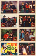 "Movie Posters:Western, The Lawless Nineties (Republic, 1936). Lobby Card Set of 8 (11"" X 14"").. ... (Total: 8 Items)"