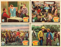 "Movie Posters:Western, The New Frontier (Republic, 1935). Lobby Cards (4) (11"" X 14"")..... (Total: 4 Items)"