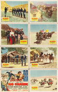 "Movie Posters:Western, Rio Grande (Republic, 1950). Lobby Card Set of 8 (11"" X 14"").. ...(Total: 8 Items)"