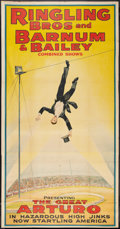 "Movie Posters:Miscellaneous, Circus Poster (Ringling Brothers and Barnum & Bailey, 1930s).Poster (41"" X 79""). Miscellaneous.. ..."
