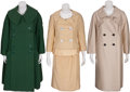 Movie/TV Memorabilia:Costumes, Edie Adams' Mainbocher Coats.... (Total: 3 )