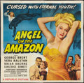 "Movie Posters:Adventure, Angel on the Amazon (Republic, 1948). Six Sheet (81"" X 81"").Adventure.. ..."