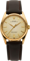 Timepieces:Wristwatch, Rolex Ref. 1005 Vintage Gold Oyster Perpetual, circa 1962. ...