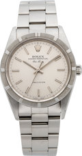 Timepieces:Wristwatch, Rolex Ref. 14010 Steel Oyster Perpetual Air King, circa 2001. ...