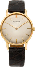 Timepieces:Wristwatch, Patek Philippe Ref. 2599 Gent's Gold Wristwatch, circa 1965. ...