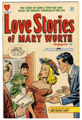 Golden Age (1938-1955):Romance, Love Stories of Mary Worth #1 File Copy (Harvey, 1949) Condition:VF....