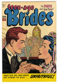 Golden Age (1938-1955):Romance, Teen-Age Brides #7 File Copy (Harvey, 1954) Condition: VF/NM....