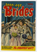 Golden Age (1938-1955):Romance, Teen-Age Brides #6 File Copy (Harvey, 1954) Condition: NM-....