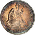 Proof Seated Half Dollars, 1854 50C Half Dollar PR66 NGC....
