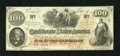 Confederate Notes:1862 Issues, T41 $100 1862.. . ...