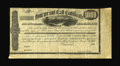 Confederate Notes:Group Lots, Ball 276 Cr. 136 $1000 1863 Four Per Cent Call Certificate Fine. ....