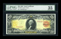 Large Size:Gold Certificates, Fr. 1180 $20 1905 Gold Certificate PMG Choice Very Fine 35....