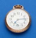 Timepieces:Pocket (post 1900), Illinois, 21 Jewel, 161A Elinvar Bunn Special. ...