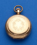 Timepieces:Pocket (pre 1900) , Illinois 8 Size Private Label Gold Filled Hunters Case. ...