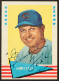 Autographs:Sports Cards, 1961 Fleer Jimmie Foxx #28, Signed....