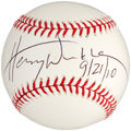 Autographs:Baseballs, Henry Winkler Single Signed Baseball....