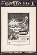 "Movie Posters:Science Fiction, This Island Earth Lot (Universal International, 1955). Pressbooks(2) (Multiple Pages, 12"" X 18""). Science Fiction.. ... (Total: 2Items)"