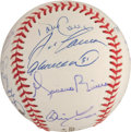 Autographs:Baseballs, 2000 New York Yankees Team Signed Baseball....