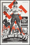 "Movie Posters:Exploitation, Ilsa, She Wolf of the SS (Cambist Films, 1975). Poster (23"" X 35"").Exploitation.. ..."