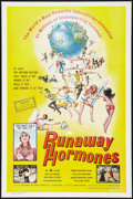 """Movie Posters:Adult, Runaway Hormones (Parliament, 1972). One Sheet (27"""" X 41"""") and Photos (8) (8"""" X 10""""). Adult.. ... (Total: 9 Items)"""