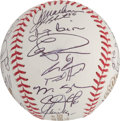Autographs:Baseballs, 2009 Philadelphia Phillies Team Signed Baseball....