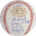 Autographs:Baseballs, 2006 St Louis Cardinals Team Signed Baseball....