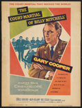 "Movie Posters:War, The Court-Martial of Billy Mitchell Lot (Warner Brothers, 1956).Window Cards (2) (14"" X 18"" and 14"" X 16.5""). War.. ... (Total: 2Items)"