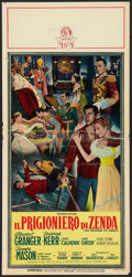"Movie Posters:Adventure, The Prisoner of Zenda (MGM, 1952). Italian Locandina (13"" X 27.5"").Adventure.. ..."