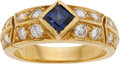 Estate Jewelry:Rings, Sapphire, Diamond, Gold Ring, Van Cleef & Arpels. ...
