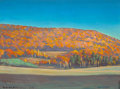 Fine Art - Painting, American:Modern  (1900 1949)  , ROCKWELL KENT (American, 1882-1971). Adirondack Landscape.Oil on panel. 12 x 16 inches (30.5 x 40.6 cm). Signed lower r...