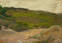PROPERTY FROM A VIRGINIA PRIVATE COLLECTION  HENRY OSSAWA TANNER (American, 1859-1937) Country Scene in t